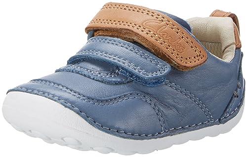 Clarks Tiny Aspire, Mocasines para Bebés, Azul (Denim Blue Lea), 18.5 EU: Amazon.es: Zapatos y complementos