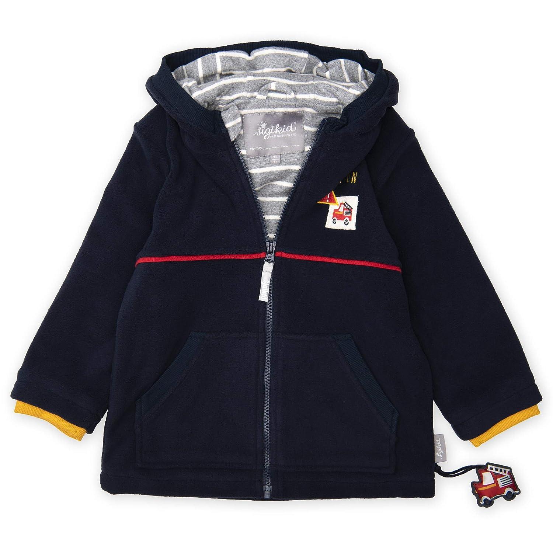 Jacke blau und froschgrün von Sigikid Sweat-Shirt zum Wenden NEU!
