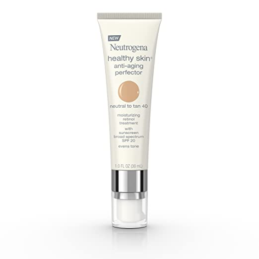 Neutrogena Healthy Skin Anti-Aging Perfector Spf 20, Retinol Treatment, 40 Neutral To Tan, 1 Fl. Oz. Best BB Cream