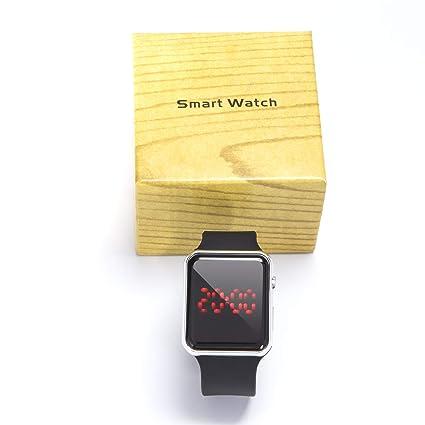 Amazon.com: yixuantech Digital Smart Watch for Men Women and ...
