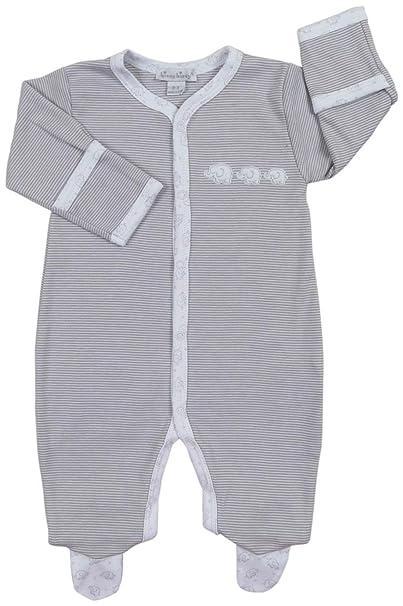Amazon.com: Kissy Kissy bebé unisex bebé Elefantes Stripe ...