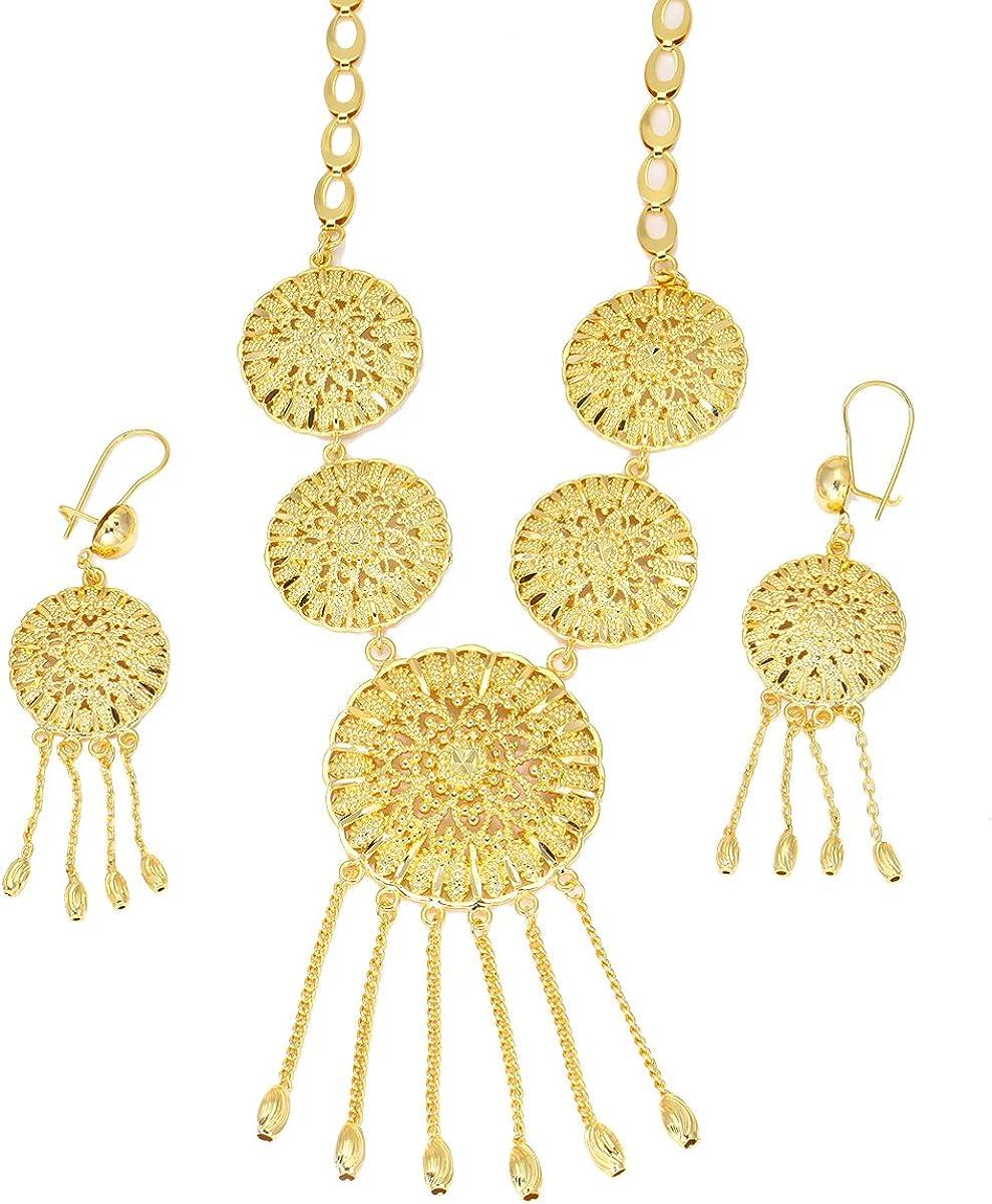 Disfraz de africano conjuntos de joyería de color Dorado para ...