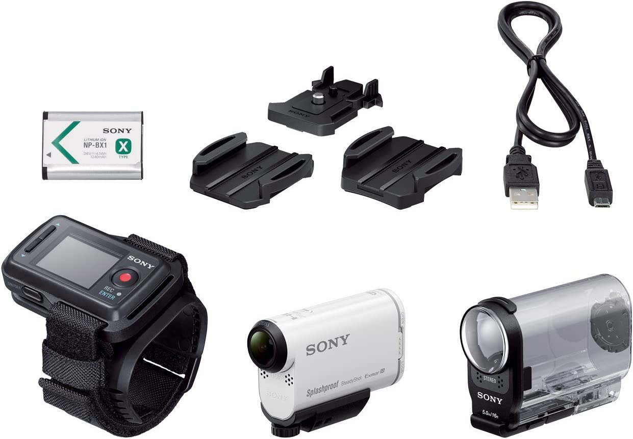 Sony Hdr As200vr Full Hd Action Cam Weiß Kamera