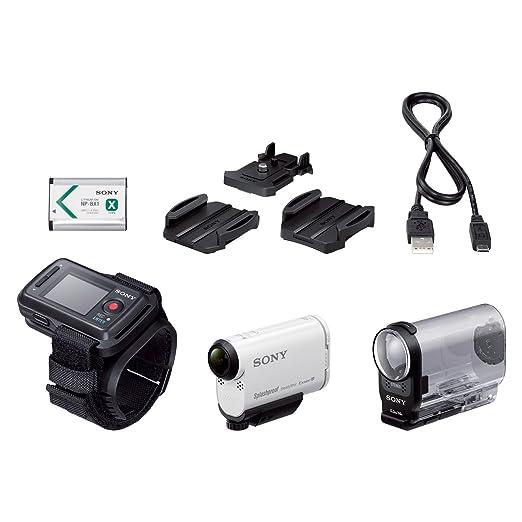 112 opinioni per Sony HDR-AS200VR Action Camera con Kit Telecomando Live View, Sensore CMOS Exmor