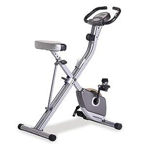 Exerpeutic Folding Upright Exercise Bike
