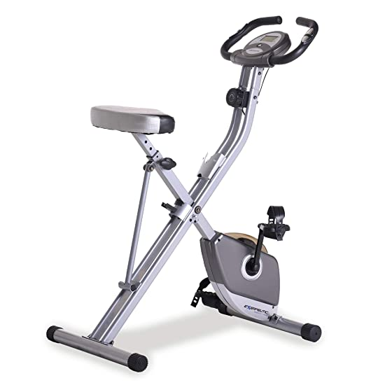 side facing exerpeutic folding exercise bike