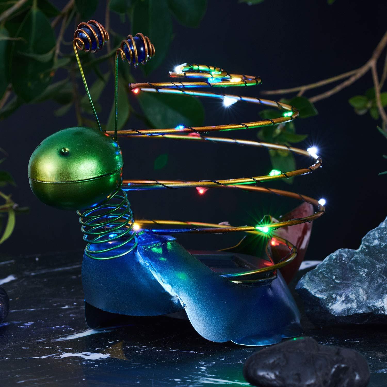 Go2garden LED Gift Outdoor Decorative Solar Figurine Lights for Patio Garden Courtyard Pathway Snail