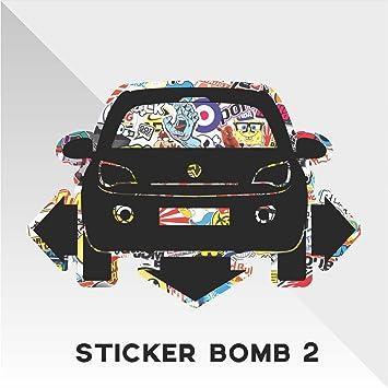 Erreinge Sticker Opel Vauxhall Adam Sticker Bomb Down And