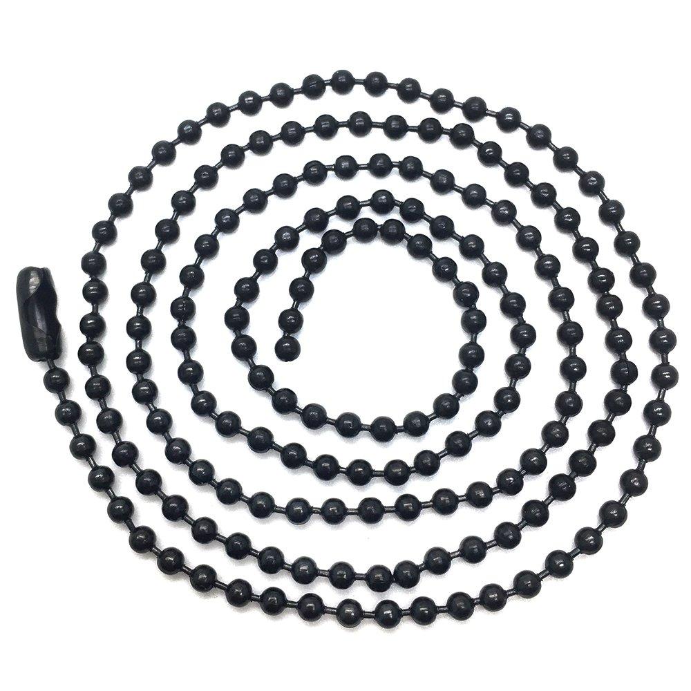 iMETACLII Noir T/ête de Lion Pendentif de Homme Acier Inoxydable Collier AVCE Zircone Cubique 60cm Cha/îne de Boule