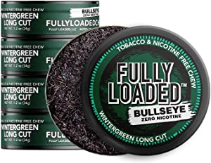 Fully Loaded Chew - 5 Pack - Tobacco and Nicotine Free Wintergreen Flavored Chew