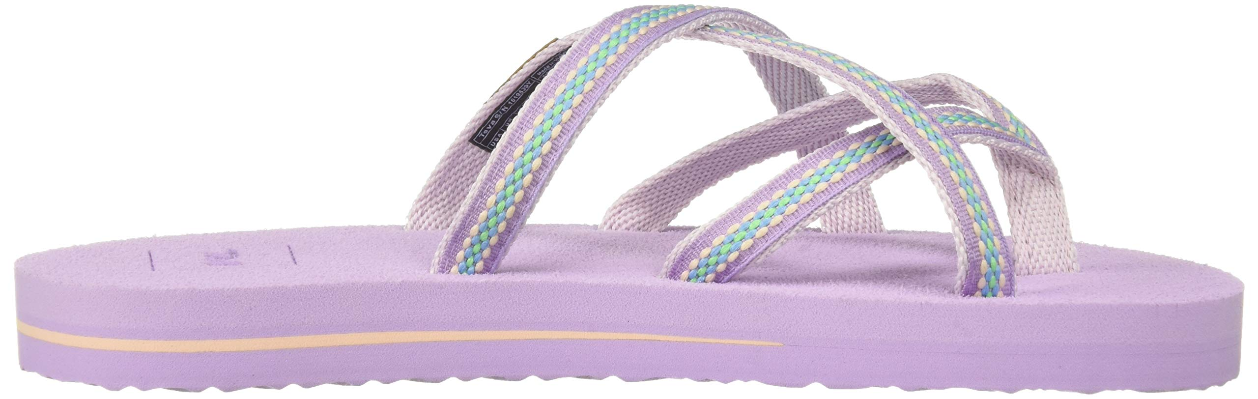 Teva Girls' Y Olowahu Sport Sandal, Lindi Orchid Bloom, 7 Medium US Big Kid by Teva (Image #8)