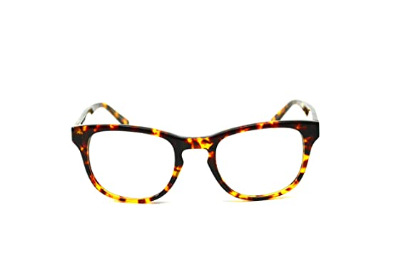 72b61fec56a Image Unavailable. Image not available for. Colour  Four Eyes Club Capella  TOTB Wayfarer eyeglasses (Woody Tortoise ...