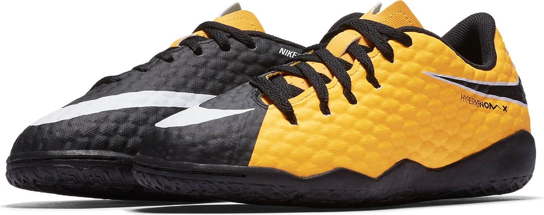 c4efca080 Amazon.com | Nike Kids' Hypervenom Phelon III Indoor Soccer Shoes | Soccer