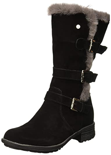 6ee727a362a Hush Puppies Women s Saluki Buckle Boot High  Amazon.co.uk  Shoes   Bags