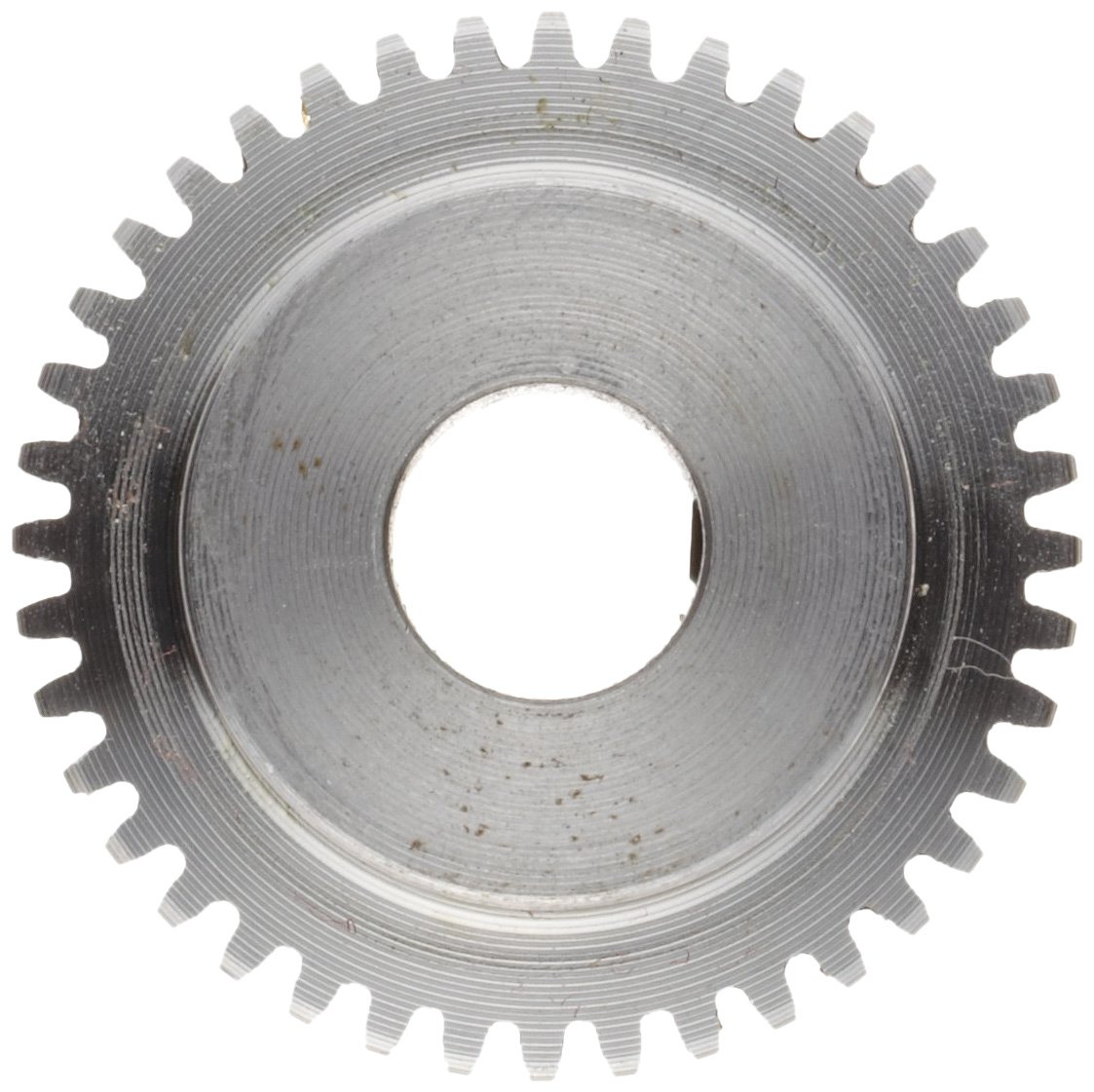 Boston Gear H3220 Spur Gear, 14.5 Pressure Angle, Steel, Inch, 32 Pitch, 0.250'' Bore, 0.687'' OD, 0.188'' Face Width, 20 Teeth