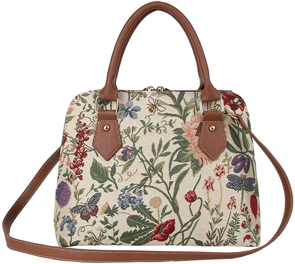 Signare Tapestry Handbags Shoulder bag and Crossbody Bags for Women with Cat Design