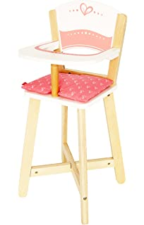 Attractive Hape Babydoll Highchair Toddler Wooden Doll Play Furniture