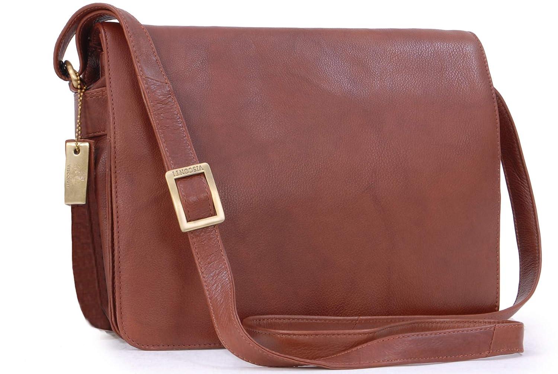 Visconti Leather Organiser Cross-Body iPad Kindle Bag Atlantic - 754