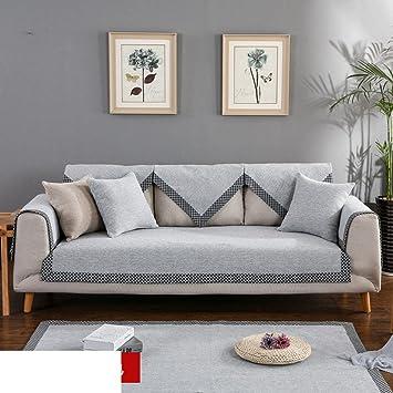 Fundas de sofá lino,Four seasons universal Tela Simple ...