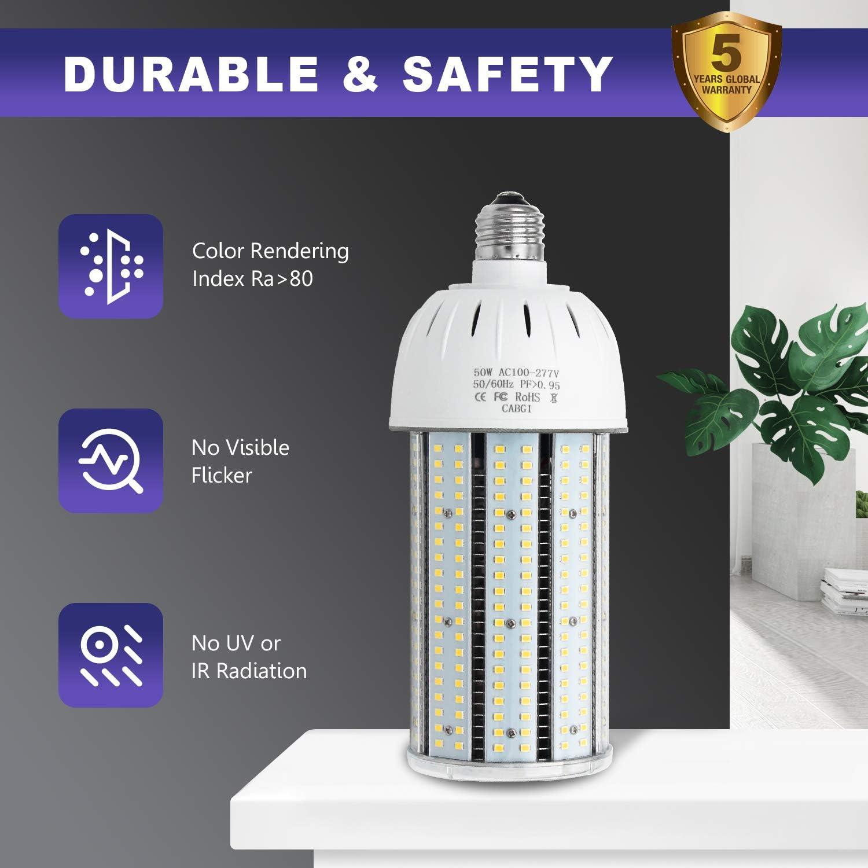 E39 mogul 54Watt LED Corn light replace 320W metal halide grocery garage ULc DLC