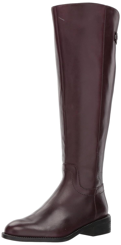 Franco Sarto Women's Brindley Wide Calf Fashion Boot B06Y3J33L9 9.5 B(M) US|Dark Burgundy