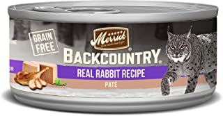 product image for Merrick Backcountry Grain Free Pate Canned Wet Cat Food (Case of 24)