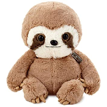 Amazon Com Hallmark Baby Sloth Stuffed Animal 8 Office Products
