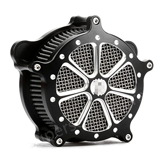 Amazon Com Cnc Deep Cut Air Cleaner Kit Harley Touring 2017 2018