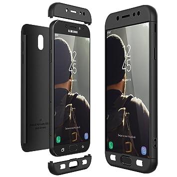 CE-Link Funda Samsung Galaxy J7 2017, Carcasa Fundas para Samsung Galaxy J7 2017, 3 en 1 Desmontable Ultra-Delgado Anti-Arañazos Case Protectora - ...