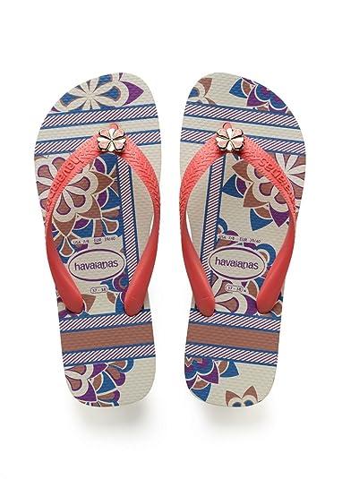 Top Fashion, Tongs Femme Bleu (Bleu Marin) 35/36 EU (33/34 BR)Havaianas