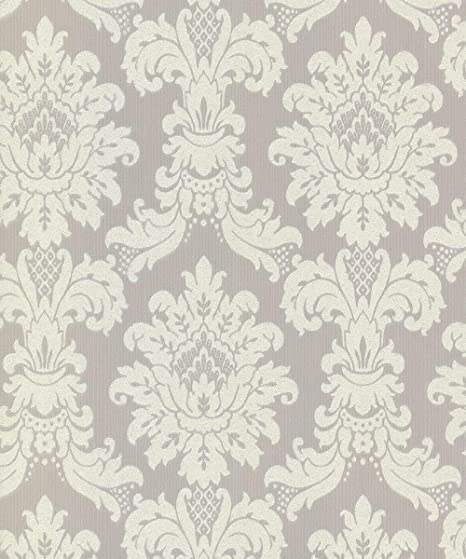 Arthouse New Messina Damask Heavyweight Vinyl Textured Wallpaper