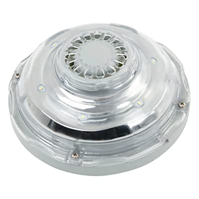 Intex Hydroelectric LED Pool Light for 1.25in Pool Fittings : Garden & Outdoor