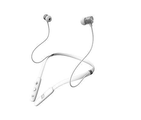 abeaddc3e89 Amazon.com: iFrogz Audio - FLEX FORCE Wireless Bluetooth Neckband Earbuds -  White: Electronics