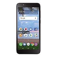 TracFone Carrier-Locked TCL LX 4G LTE Prepaid Smartphone - Black - 16GB - Sim Card...
