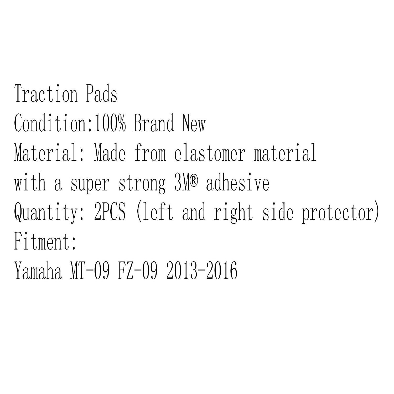 Areyourshop Prot/ège-genoux lat/éral /à gaz pour Yamaha MT-09 FZ-09 2013-2016