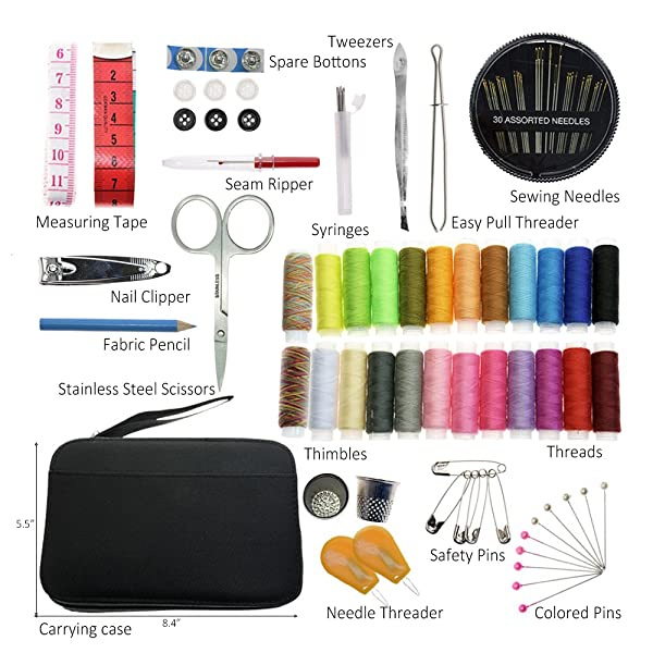 Get the necessary sewing and embroidery tools
