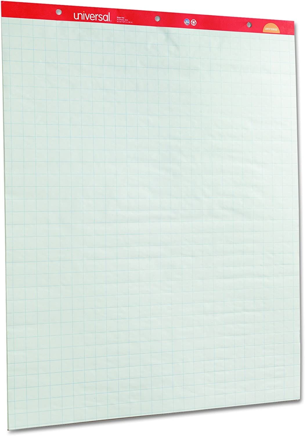 45600 Universal One Perforated Easel Pad 27 x 34