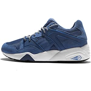 Puma Men s Blaze Peacoat-Blue Indigo-Infinity White Sneakers-10 UK ... 25c633832