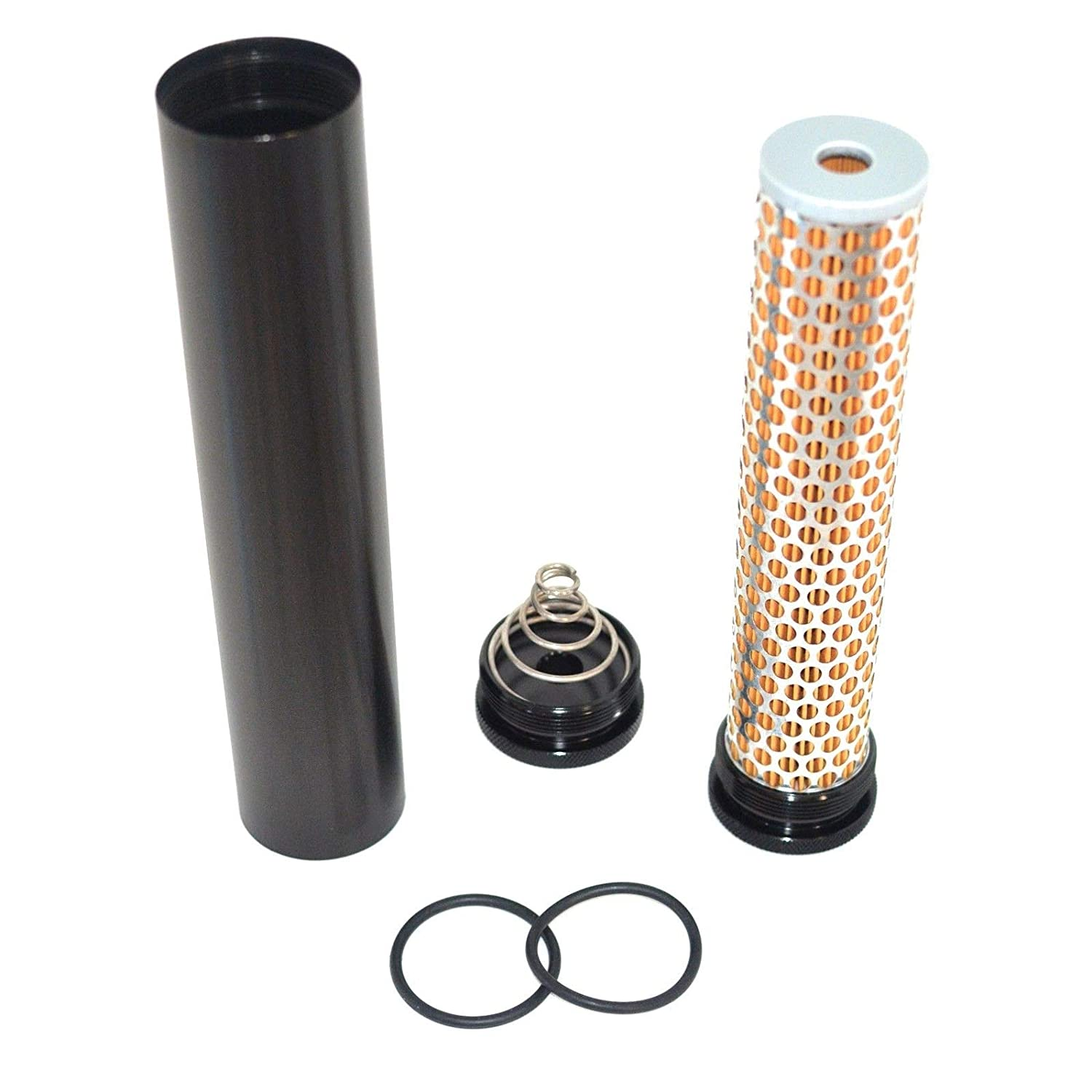 Aluminum Fuel Filter Low Profile 5/8'- 24 1/2'Bore 4003/24003 Heavy Duty Durable Construction New Designed To Trap Your Solvents & Oils While Cleaning - Skroutz Deals