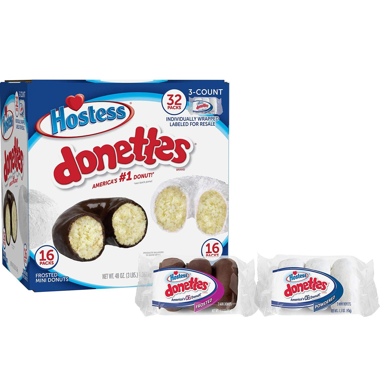 Hostess Donettes, 32 Pack by Hot Deals Warehouse