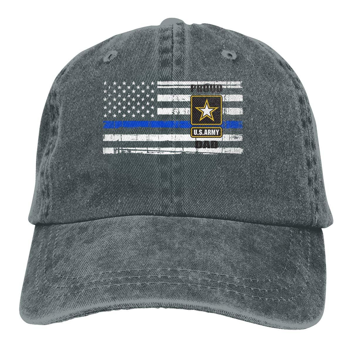 Vbfgtg Proud Army Dad Thin Blue Line Flag Denim Hats Washed Retro Baseball Cap  Dad Hat at Amazon Men s Clothing store  9ea5226032e