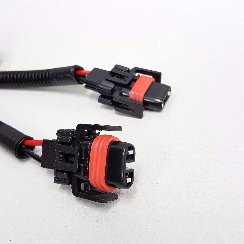 Ledin H11 H8 H9 12v 30a Fog Light Wiring Harness Relay Infiniti Lights Diagram Kit On Off Switch 2 Plugs Wire Automotive