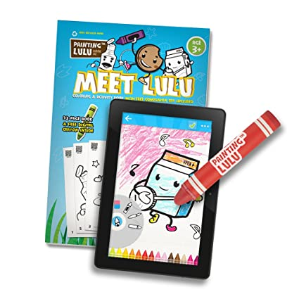 Amazon Com Paper To Digital Coloring Pack Coloring Book Crayon
