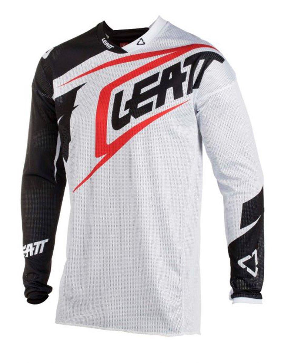 Leatt GPX 2.5 Youth Boys Off-Road Motorcycle Jersey - White/Black / Medium