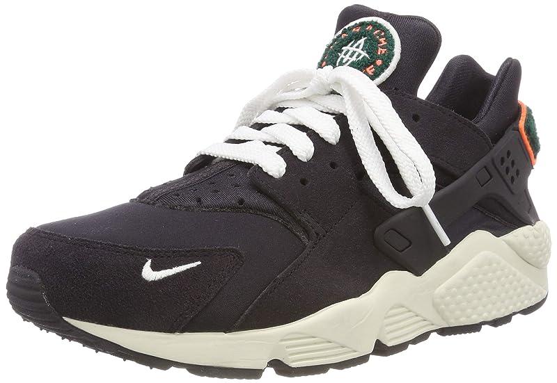 Nike Air Huarache Run Schuhe Herren Dunkelgrau (Oil Grey/Sail/Rainforest/Bright Mango)