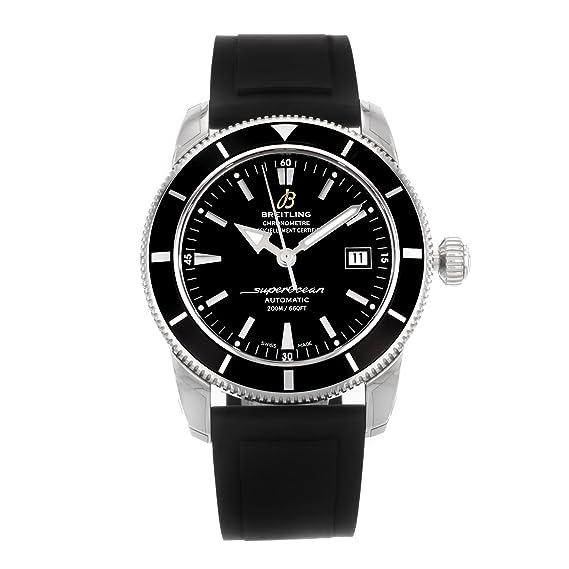 Breitling Superocean Heritage Hombre Esfera de color negro reloj automático a1732124/ba61rs