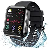 KOSPET Magic 3 Smartwatch,1.71 inch 3D Curved Full Touch Screen Smartwatch 20 Sports Modes Real Blood Oxygen Blood Pressure T