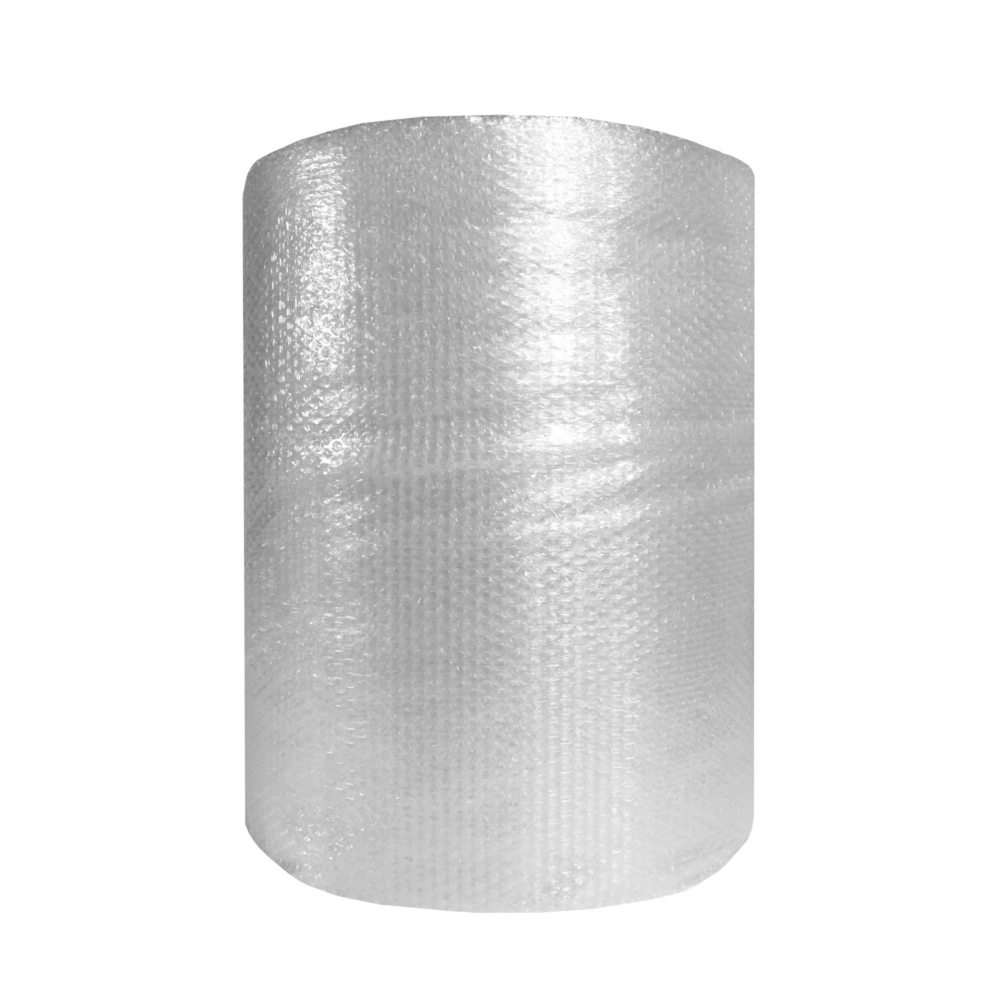 5//16 Thick 100 Length x 24 Width ValueMailers Medium Bubble Polyethylene Perforated Single Air Bubble Roll Clear VM51610024