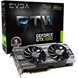 EVGA GeForce GTX 1080 FTW GAMING ACX 3.0, 8GB GDDR5X, RGB LED, 10CM FAN, 10 Power Phases, Double BIOS, DX12 OSD Support…