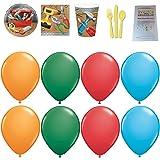 Handyman Party Supplies and Balloons Bundle